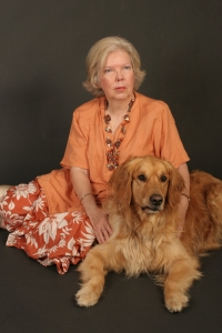 Lucky and Me (Author photo for Mood Swing: The Bipolar Murders