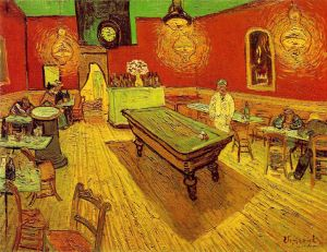 The Night Cafe by Van Gogh, 1988