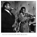 Charlie Parker and Miles Davis in the 1940's