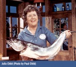 Julia Child photo by Paul Child