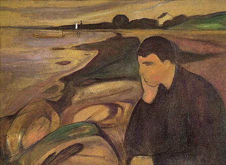 Munch Melancholy1891