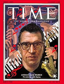 Brubeck Time magazine_cover,_Dave_Brubeck,_November_1954