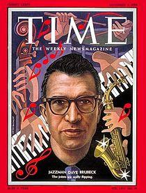 Brubeck Time magazine_cover,_Dave_Brubeck,_November_1954