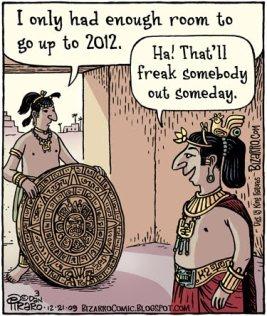 Mayan End of World cartoon