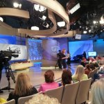 Katie Couric show on January 14th, the day I visited