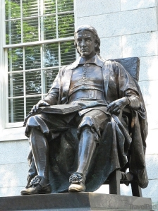 John Harvard, by Daniel Chester French
