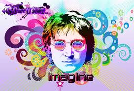 John Lennon Imagine illustration