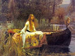 The Lady of Shalott by John William Waterhouse, 1888