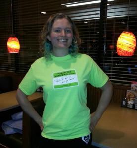 Our fearless leader, Shannon Kauderer
