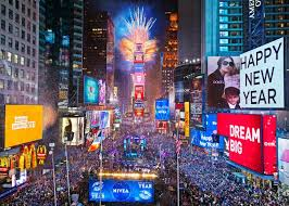 New Year's Eve Times Square overview