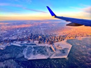 Chicago under ice by Shawn Reynolds