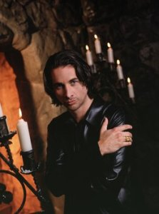 Michael Easton as vampire Caleb Morley on Port Charles