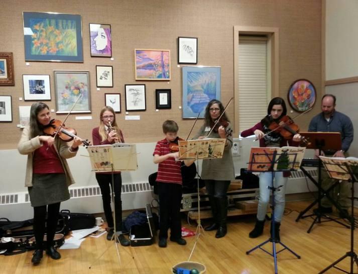 Julie paintings FUUSA music 12-20-15