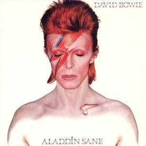 Bowie Aladdin Sane cover