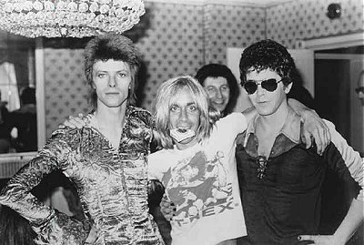 Bowie Iggy & Lou Reed 1972 London
