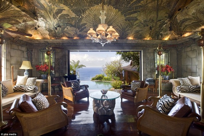 David Bowie Mustique retreat
