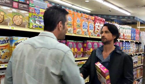 michael-easton & Frank Valentini grocery promo