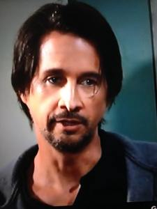 Michael Easton as Finn brooding 4-8-16