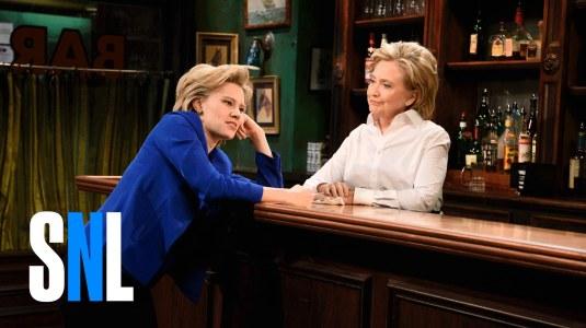 Hillary & Kate McKinnon SNL